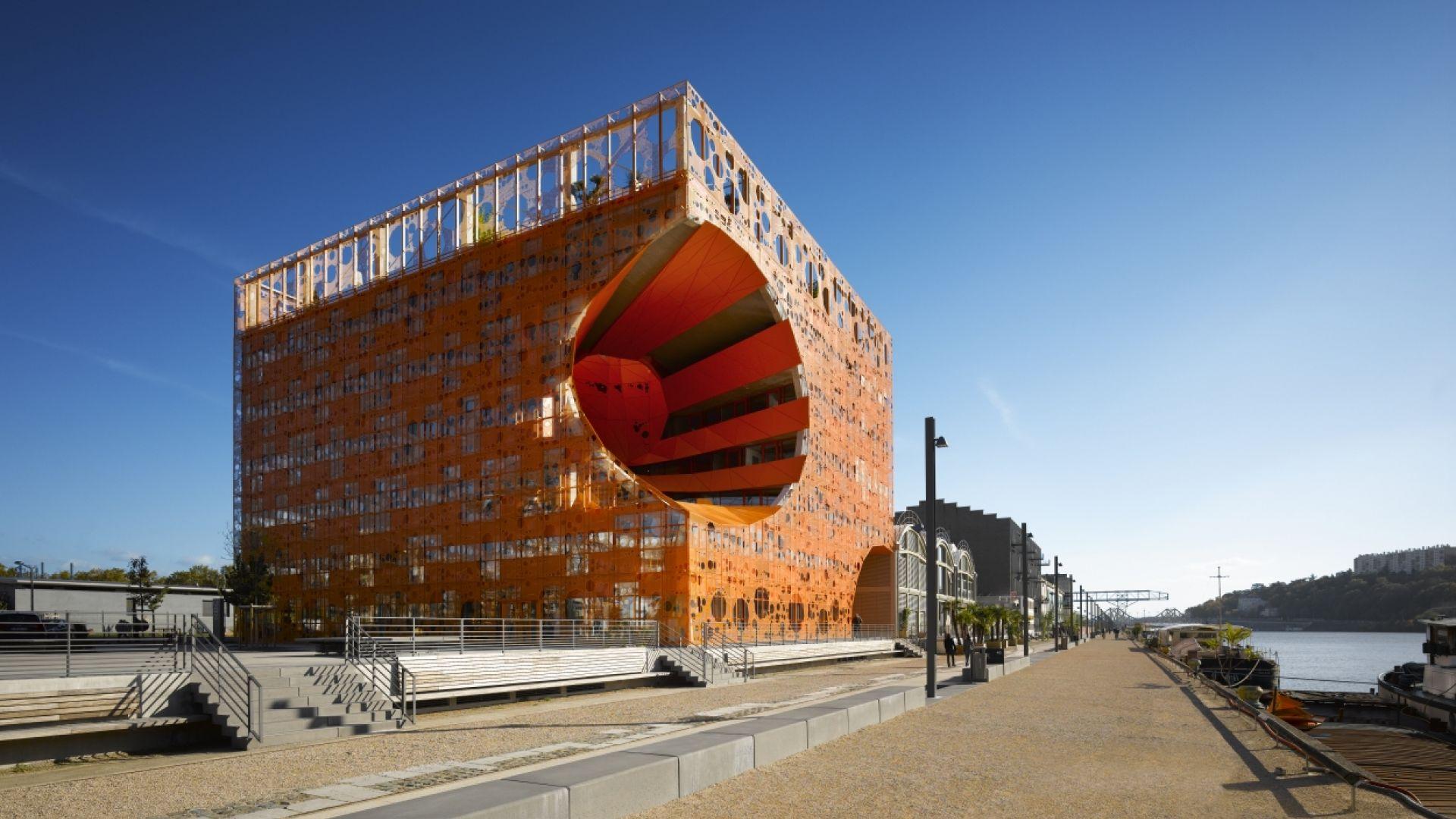 Jakob macfarlane for Architecture lyon